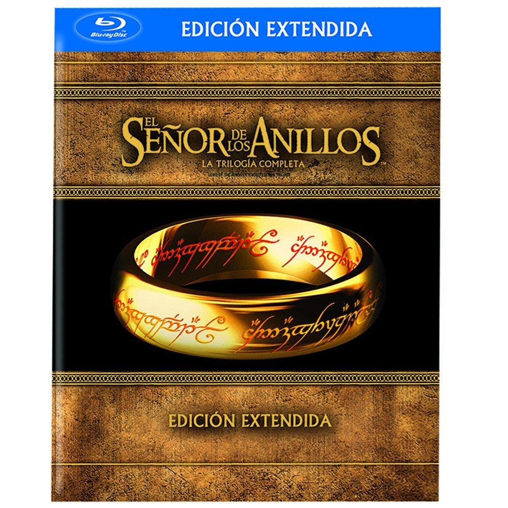 Amazon MX: Trilogía El Señor de los Anillos (Versión Extendida) [Blu-ray], Envío Gratis.