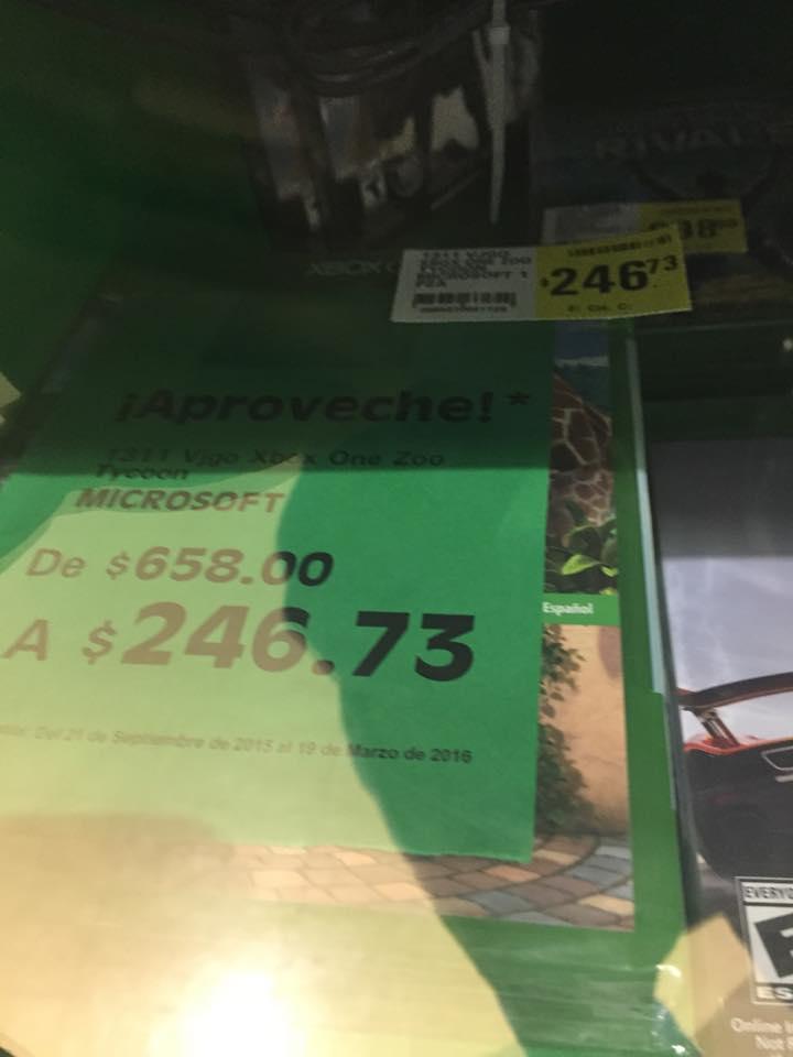 Mega Comercial Mexicana (La Comer) - Zoo Tycoon Xbox One $247
