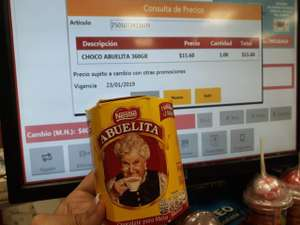 Oxxo: chocolate abuelita