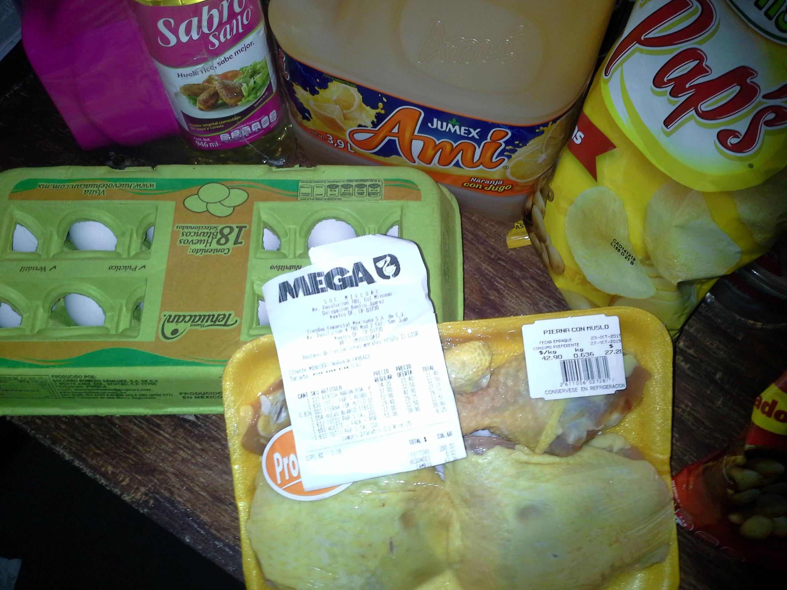 La Comer: El kilo de pierna con muslo a $42.90 y mas ...