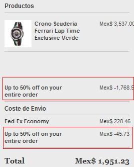 Ferrari Store: hasta 50% de descuento con cupón