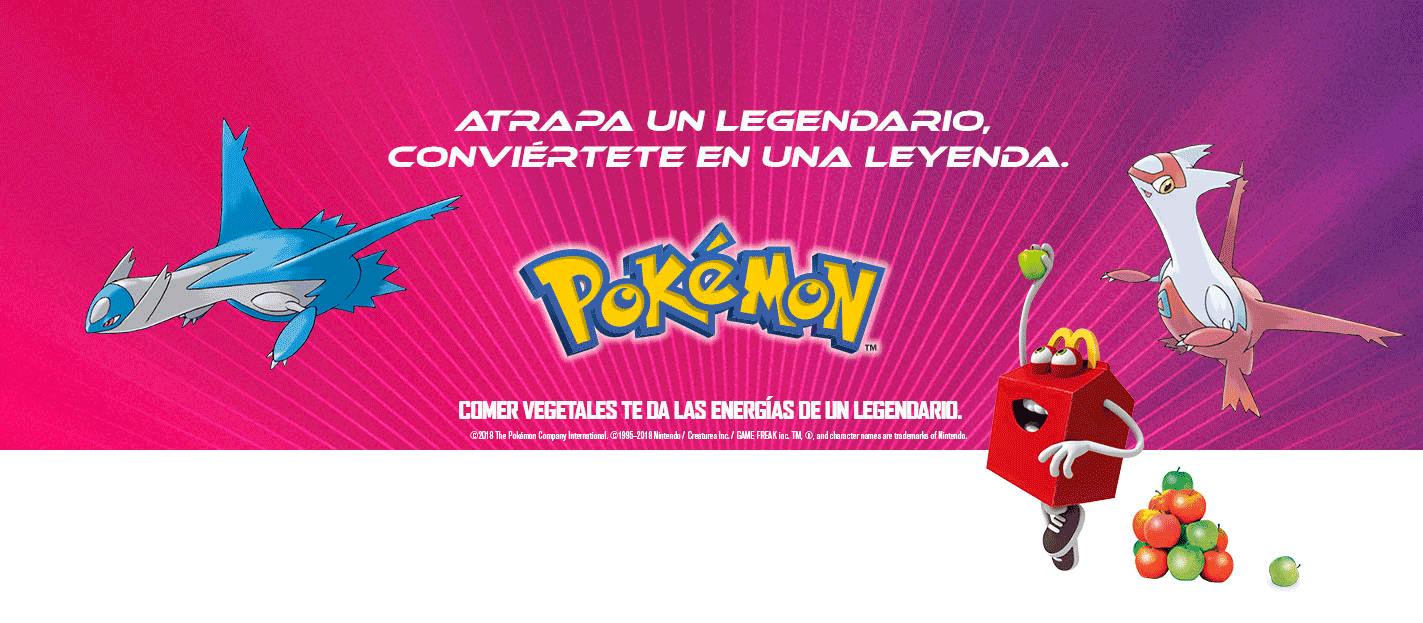 McDonald's: juguetes Pokemon en la Cajita Feliz