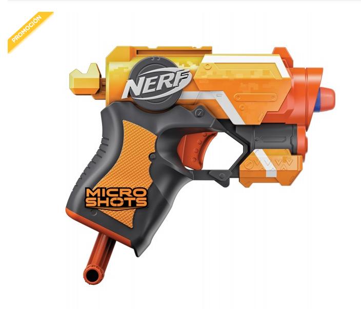 PALACIO DE HIERRO  Nerf Pistola Nerf Microshots