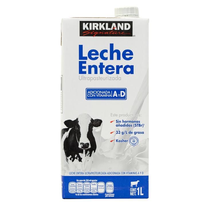 COSTCO: 12L de Kirkland Signature leche (todas sus variedades) - $169 - Envio incluido