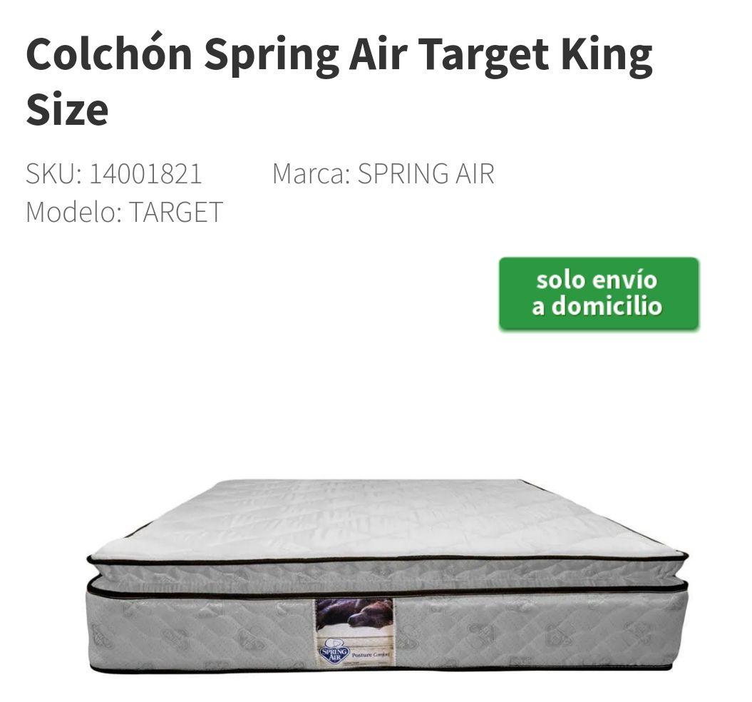 Elektra: Colchón Spring Air King Size