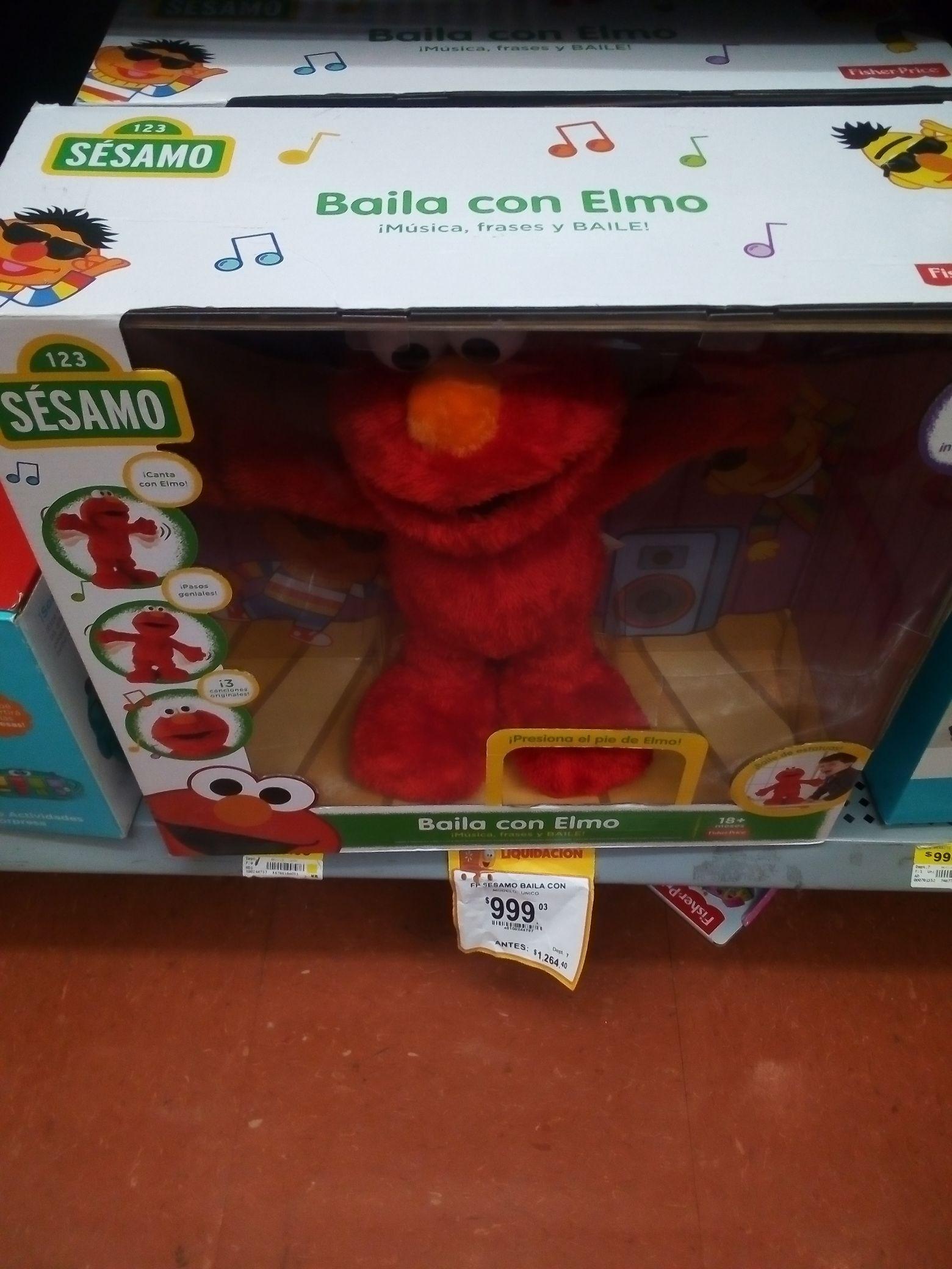 Walmart: Elmo baila conmigo