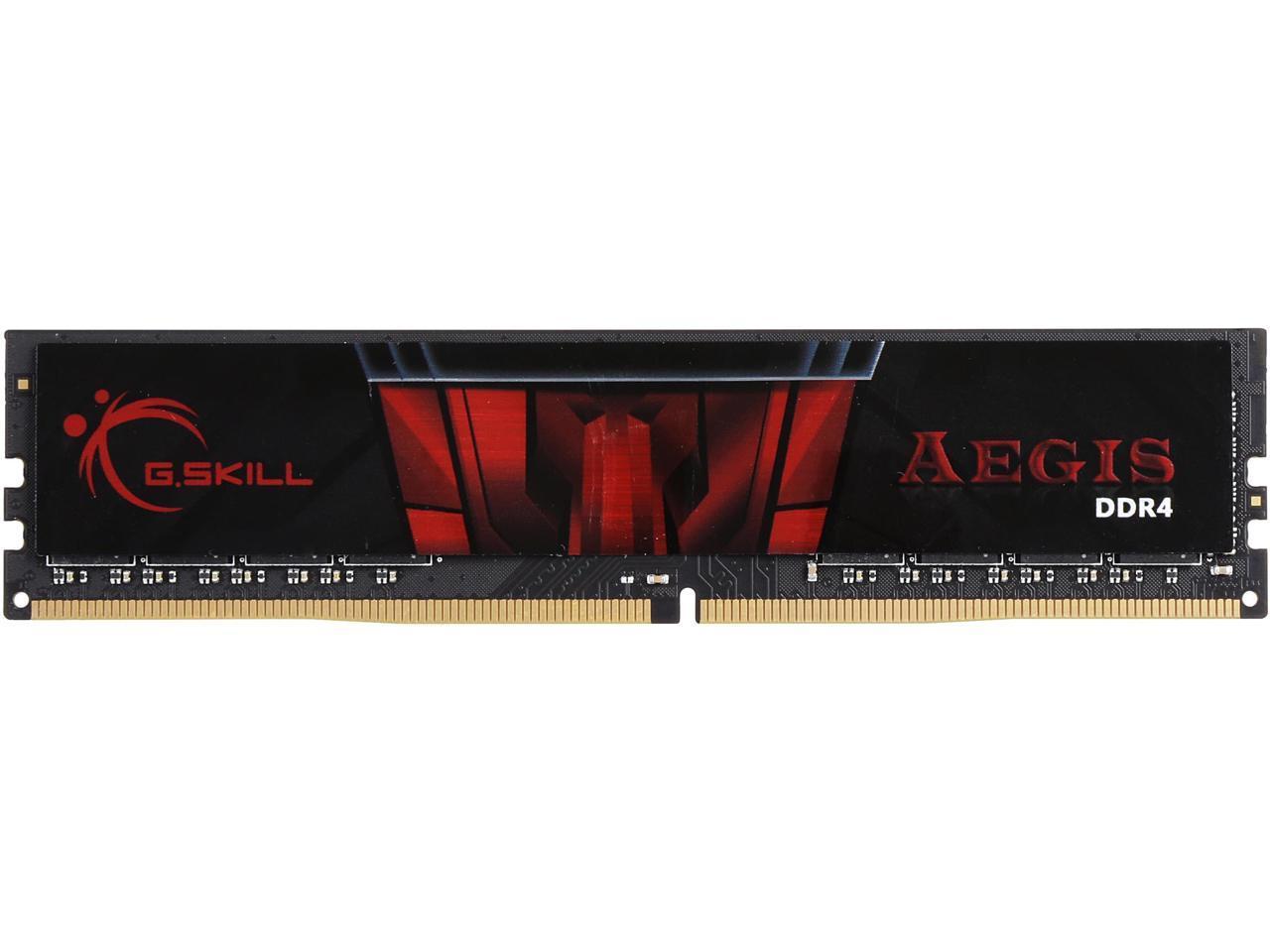 Newegg.com Memoria G.SKILL Aegis 8GB 288-Pin DDR4
