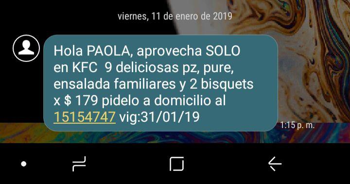 KFC 9 Pzas $179