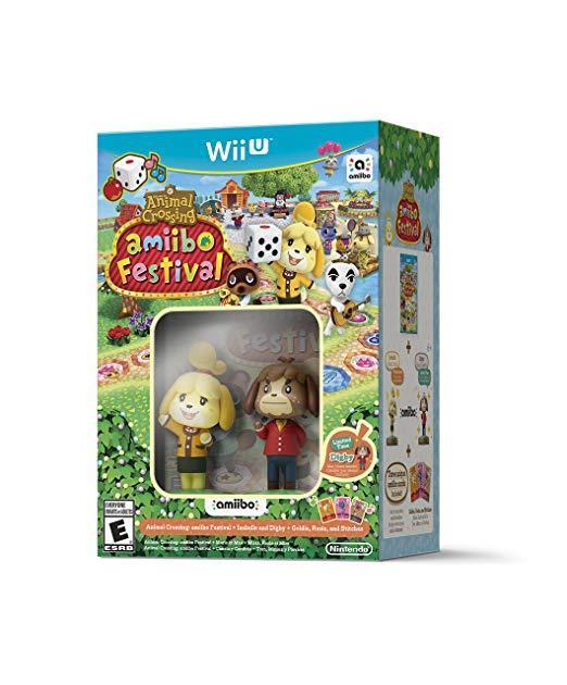 Game Planet: Animal Crossing Festival Amiibo para WiiU