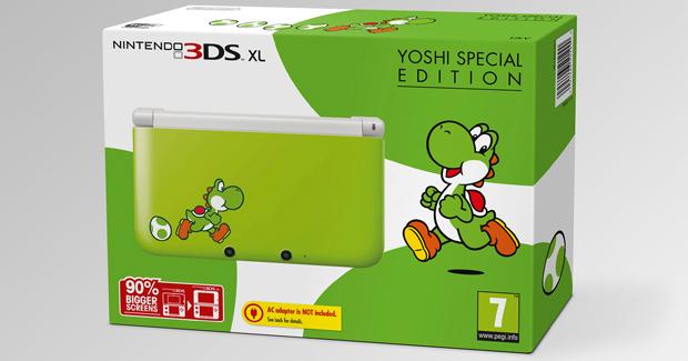 Linio: Nintendo 3DS XL Yoshi ED $2,691 y 12 meses sin intereses (sólo App)