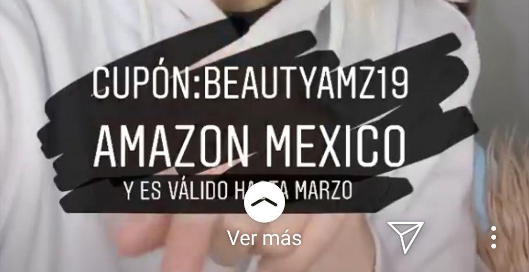 Amazon: Cupón de 150 pesos de descuento en  departamento Amazon Beauty