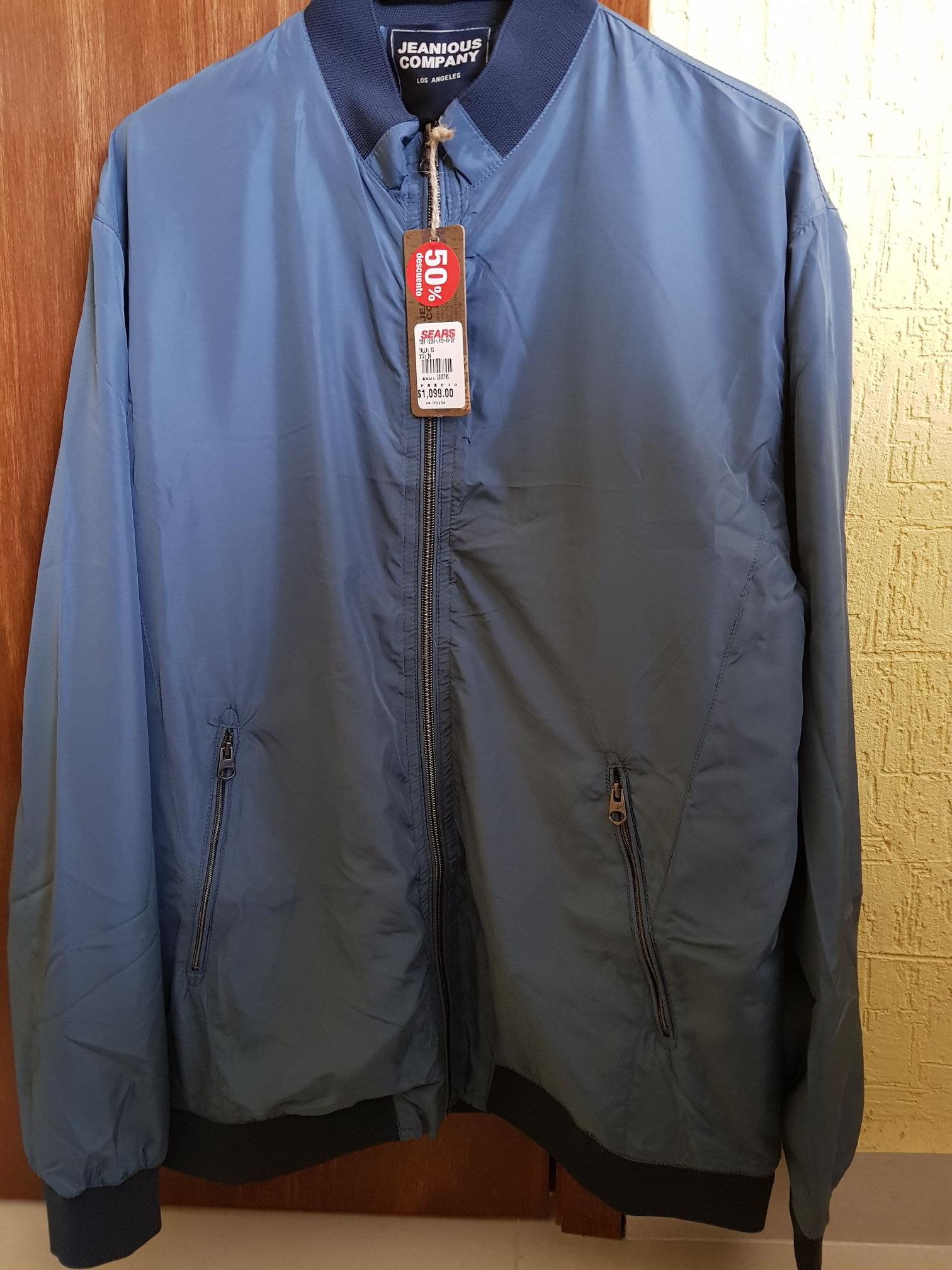 Sears Buenavista CDMX: Chamarra Jeanious Company de $1099 a $396