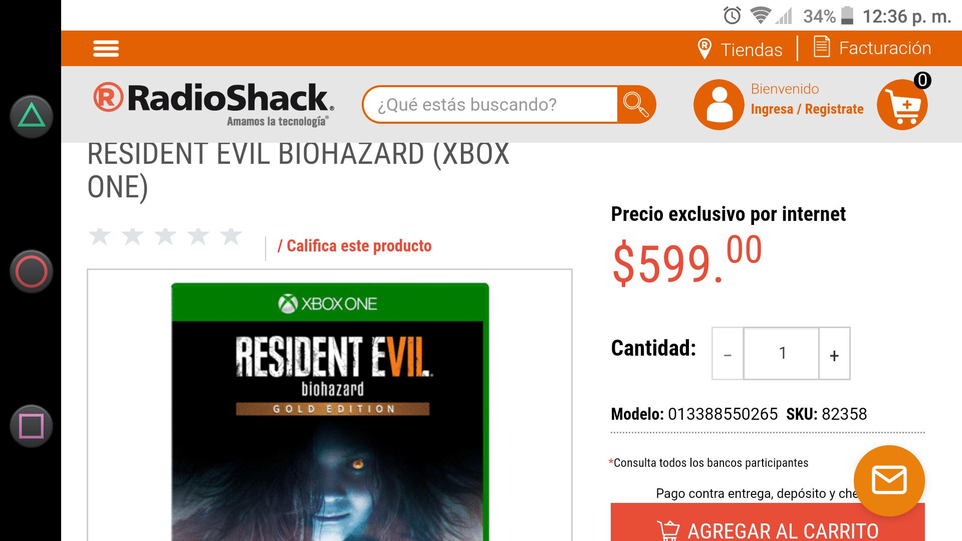 Radio Shack: Resident Evil 7 Biohazard Gold Edition Xbox One