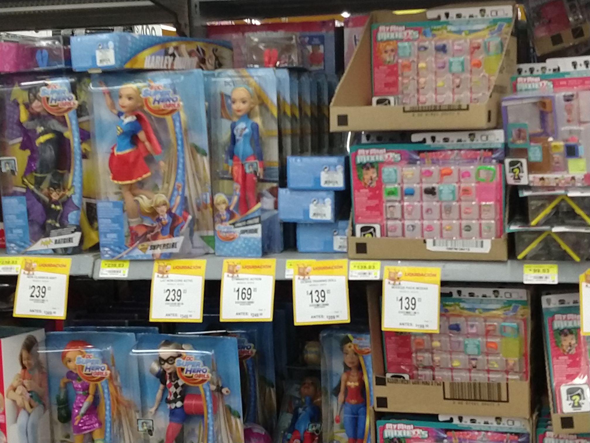Walmart: liquidación de juguetes varios