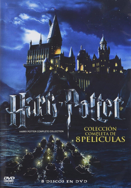 Linio; Coleccion Blu Ray 809 y Amazon DVDs de Harry Potter en $406.00