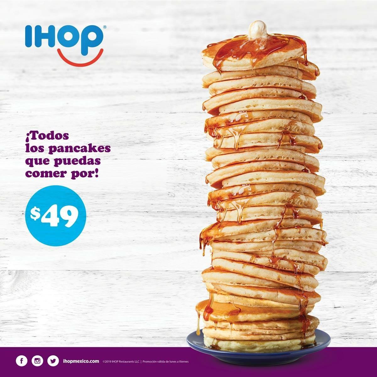 IHOP: Todos los Pancakes que puedas comer por $49