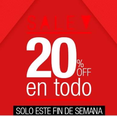 Dafiti: 20% de descuento en toda la tienda