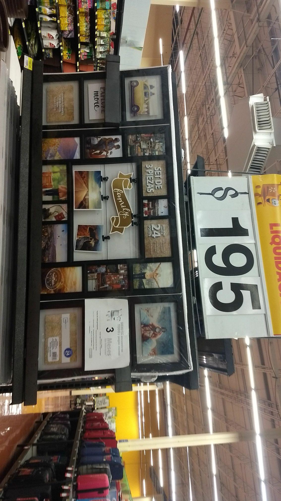 Walmart: portaretrato gigante