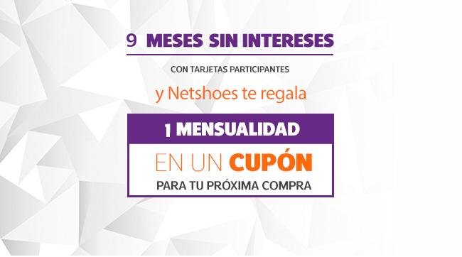 Netshoes: paga a 9 msi con Banamex y te regresa 1 mensualidad para tu siguiente compra