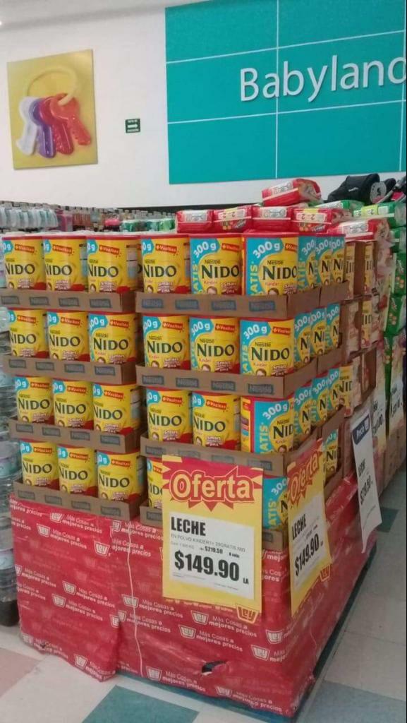 Tiendas Ley,  Nido Kinder Nestle 1.8kg