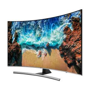 """Costco: Samsung 55"""" curve serie 8, 120hz reales, ideal para gamers, a 18msi con Banamex"""