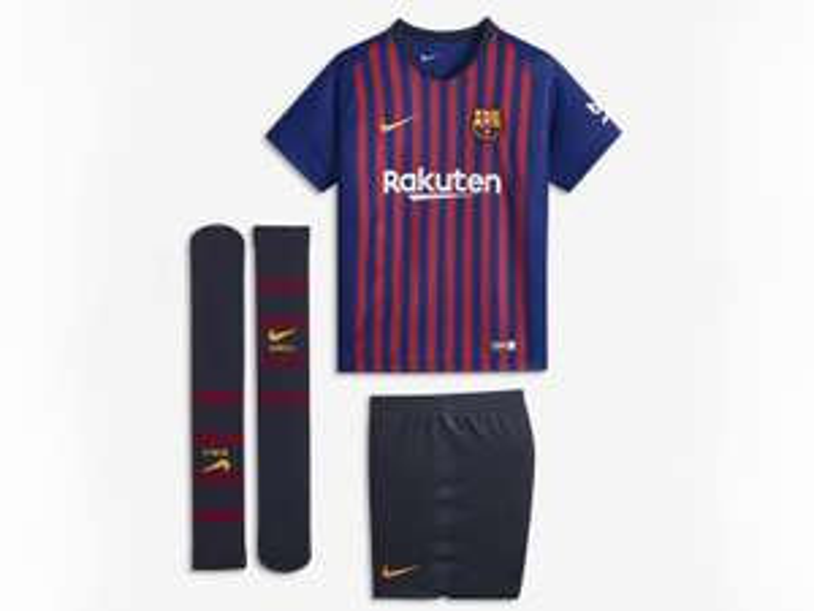 Liverpool: Conjunto deportivo Nike FC Barcelona y PUMAS para niño