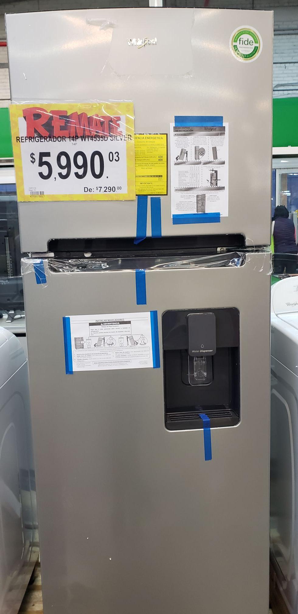 Bodega Aurrerá Saltillo: Remate de Refrigeradores