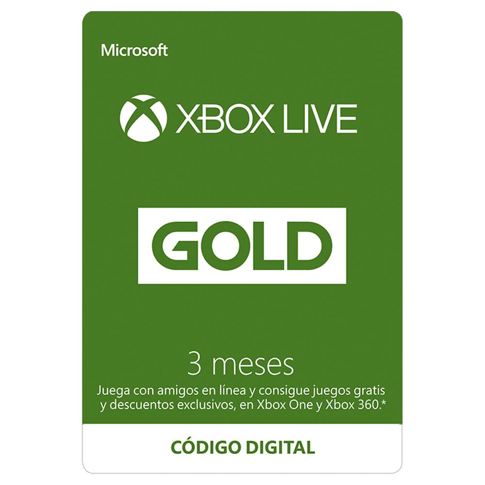 Best Buy: Xbox Live Gold 3 Meses + código con 3 meses adicionales de regalo