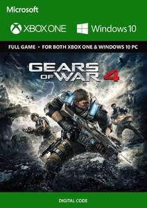 Cdkeys: Gears of War 4 Xbox One/PC - Digital Code