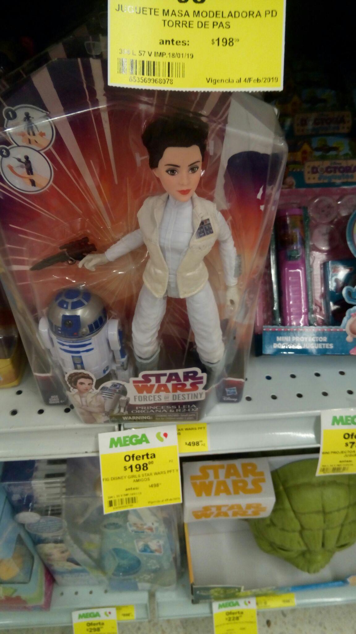 Mega Soriana: Princesa Leia con R2D2