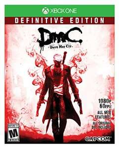 AMAZON: DMC Devil May Cry: Definitive Edition - Xbox One $291