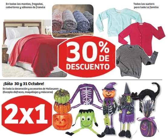 Soriana: 2x1 en decoración Halloween, carne para asar $90kg, 20% menos en vinos y licores y más