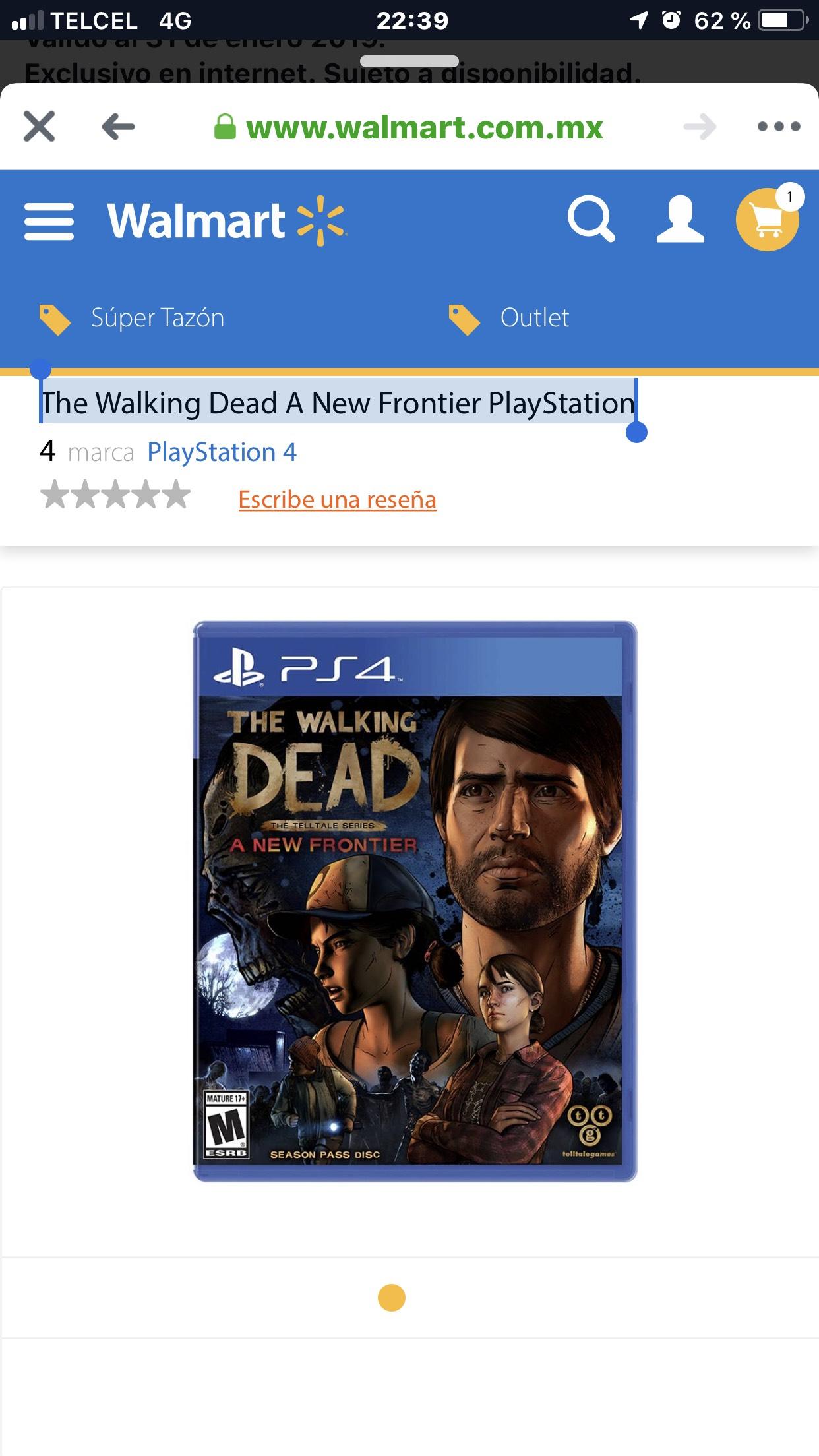 The Walking Dead PlayStation 4