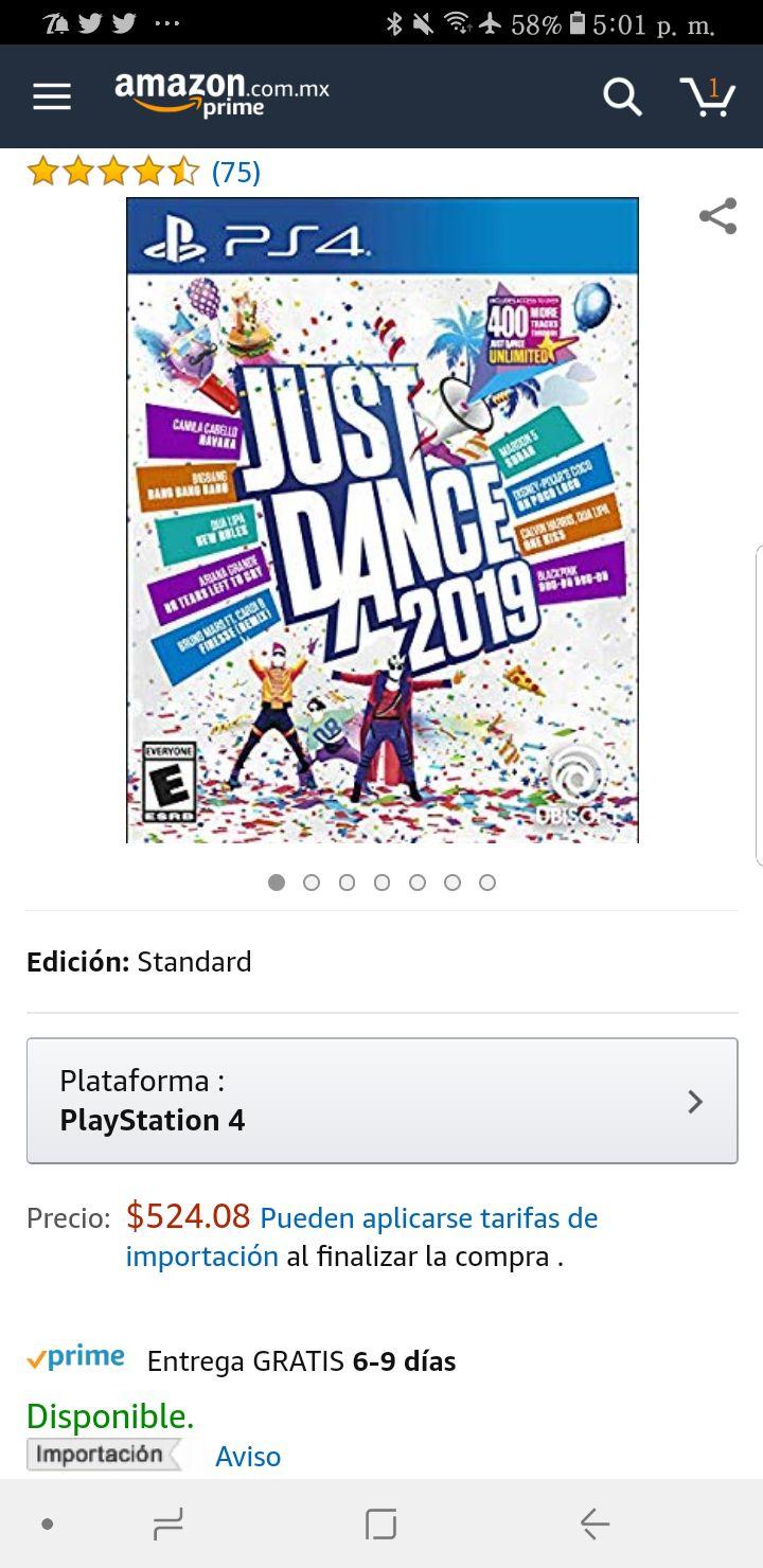 Amazon: Just Dance 2019 PS4