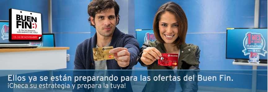 Promociones del Buen Fin 2015 con Banamex: meses sin intereses con bonificación en varias tiendas