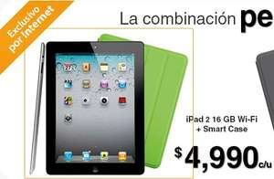 Walmart: iPad 2 + funda Smart Case $4,990 y 18 meses sin intereses