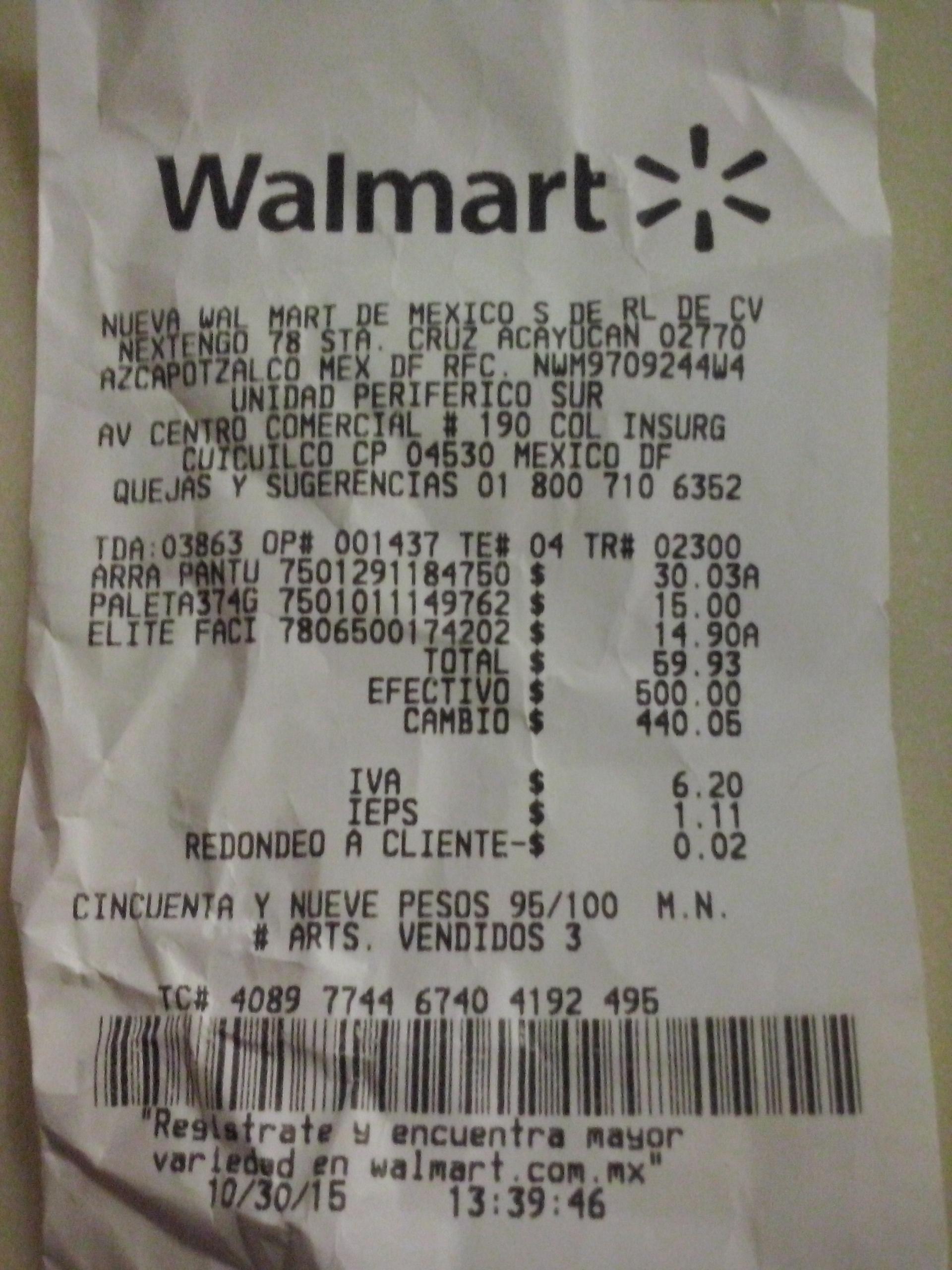 Walmart Perisur: Bolsa de paletas Sonrics a $15