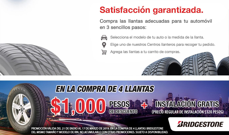 COSTCO: 4 LLANTAS 185/65 R15 B250 88h BRIDGESTONE INCLUYE INSTALACIÓN, BALANCEO, INFLADO CON NITROGENO  Y SERVICIO POR 4 AÑOS