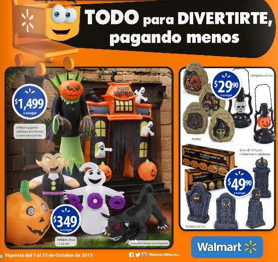 Folleto Walmart del 1 al 15 de octubre
