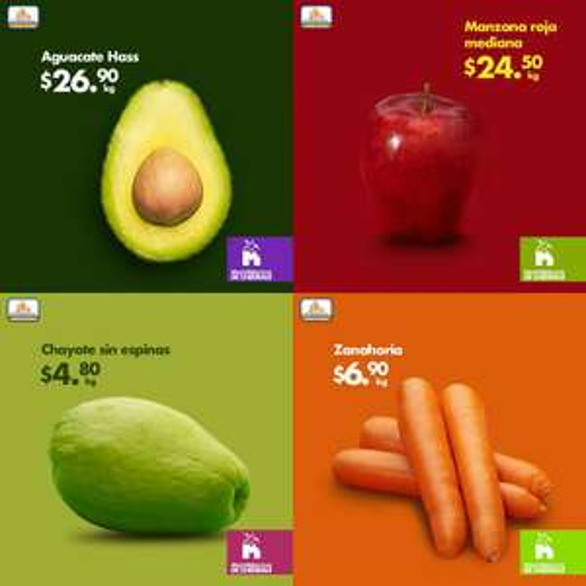 Chedraui: Martimiercoles de Frutas y Verduras 22 y 23 de Enero