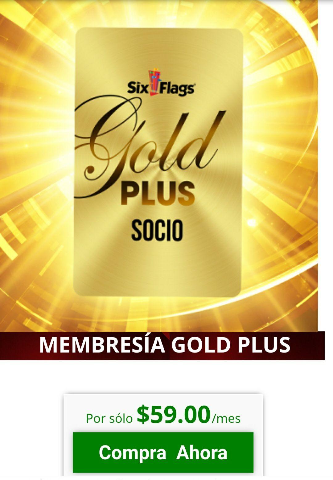 Six Flags: Nuevo programa de socios , con beneficios del pase anual gold