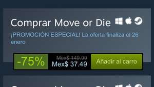 Steam: Move or Die -75%