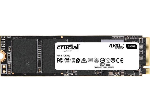 Newegg: Crucial P1 M.2 SSD NVME 500GB