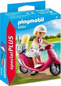 Amazon: Playmobil Construction Mujer con scooter 9084