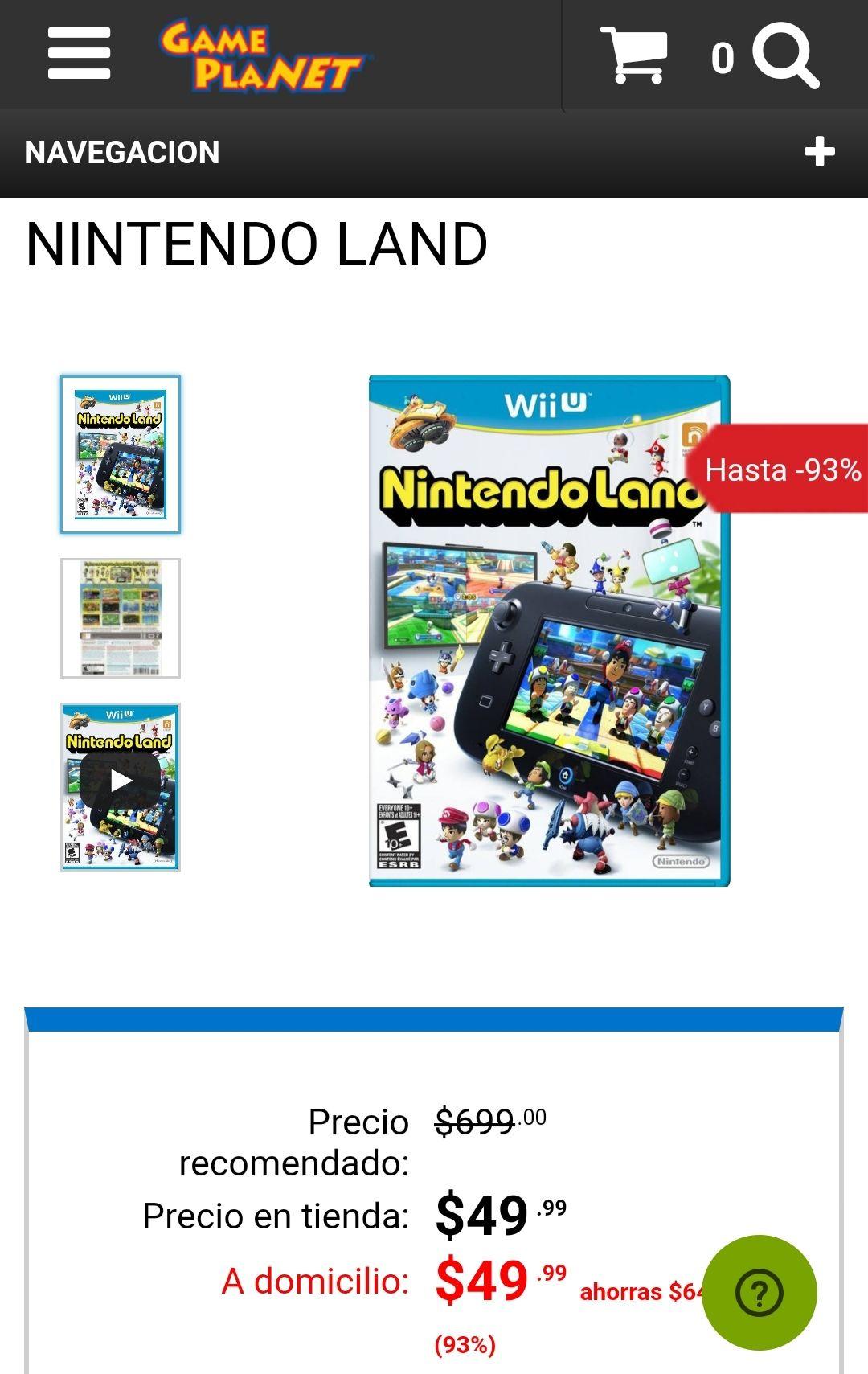 Game Planet: Nintendo Land Wii U