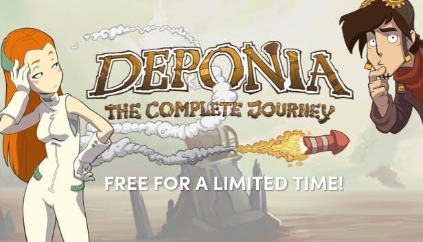 Humble Bundle: Deponia: The Complete Journey para PC Gratis