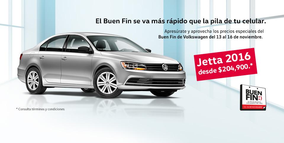 Promociones del Buen Fin 2015 en Volkswagen