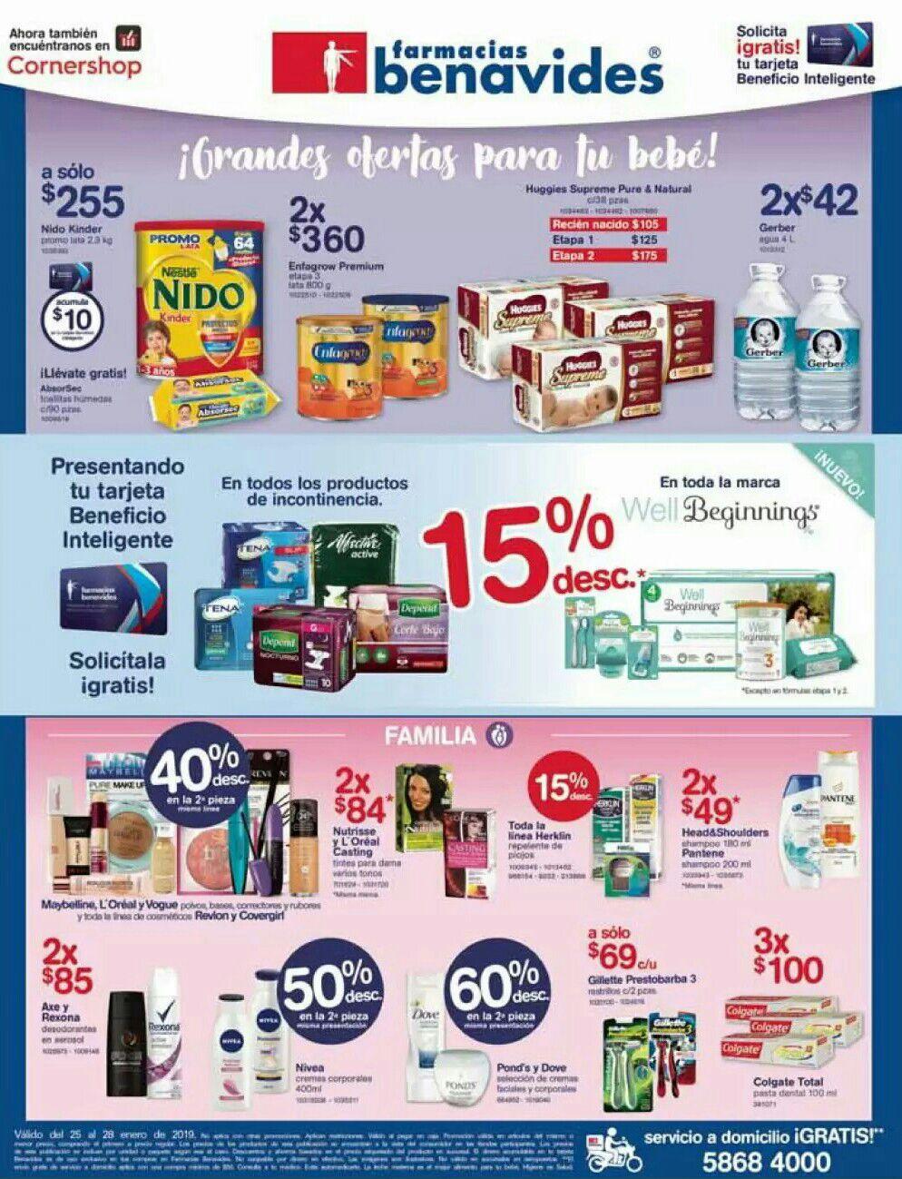 Farmacias Benavides: Ofertas del Viernes 25 al Lunes 28 de Enero