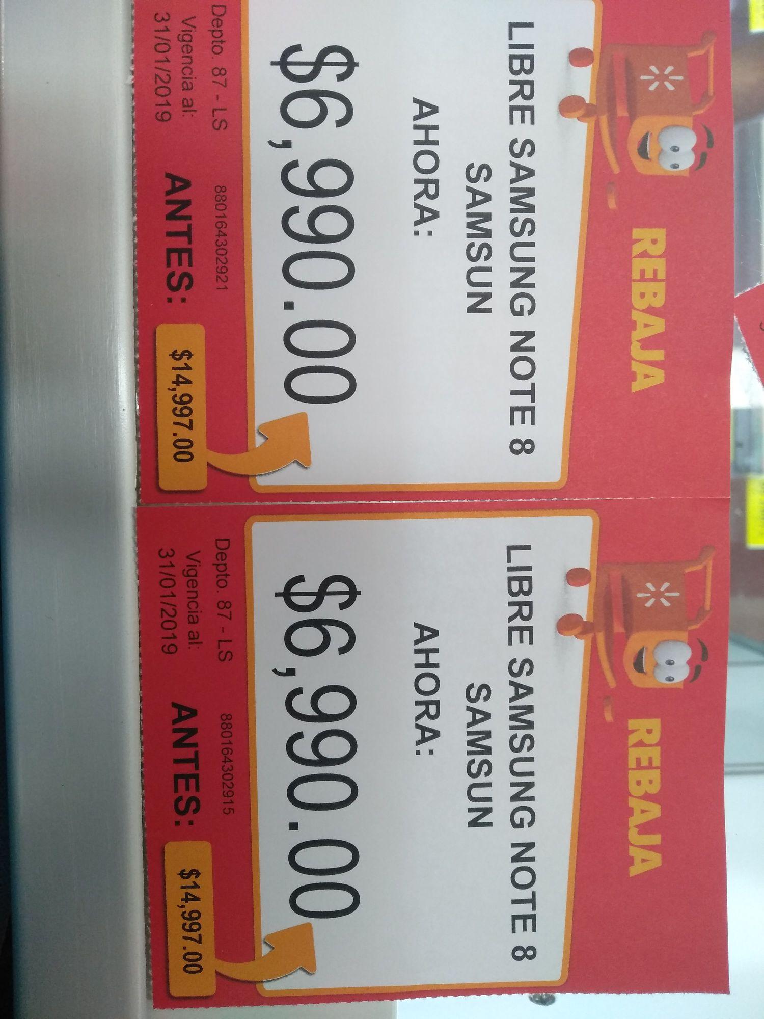 Walmart: Note 8 $6990