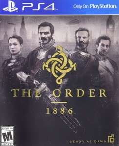 Amazon: The Order 1886 para PS4 a $332
